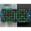 Adafruit - 2035 - 16X8 1.2in LED Matrix Round LEDs - Green