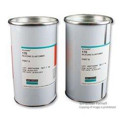 Dow Corning - SYLGARD 170, 2KG - Silicone Elastomer, 2 Part, 1:1 Mix, Sylgard 170, Black, Container, 2kg