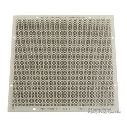 Vector Electronics - 8015-1 - PCB, Pad/Hole, Epoxy Glass Composite, 1.57mm, 101.6mm x 101.6mm