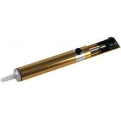 Duratool - SD01154 - Desoldering Pump, Aluminum Body, PTFE Tip, Gold, 7.64