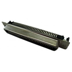 Amphenol - 57-10500-27 - I/O Connector, 50 Contacts, Plug, Micro D, Through Hole, 57 Series, PCB Mount