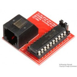 Microchip - AC162052 - ICD Header, MPLAB ICD 14-Pin Header Interface for Debugging PIC16F676 / 630