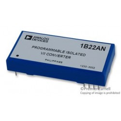 Analog Devices - 1B22AN - Special Function IC, Voltage to Current Converter, 0 V to 10 V input, 0 mA to 20 mA output, DIP-12