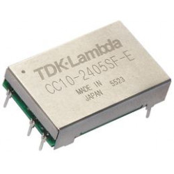 TDK-Lambda - CC32405SFE - Isolated Board Mount DC/DC Converter, Ultra Compact, 1 Output, 3 W, 5 V, 600 mA