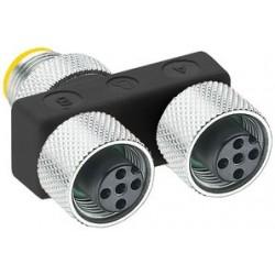 Lumberg - ASBS 2 M12-S2326 - Sensor Splitter, 2 Ports