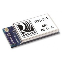 Microchip - RN131C/RM - Wireless LAN Module, IEEE 802.11 b/g, Ultra-Low Power Embedded TCP/IP Solution, Commercial