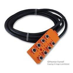 Lumberg - ASBV 8/LED 5-242/5M - Sensor Distribution Box, 5 m, 8 Ports