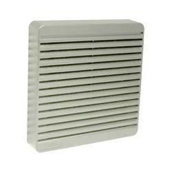 Hammond Manufacturing - XPFA120LG - Vent, Grey, 120mm Axial Fans, 150 mm, 150 mm, 24 mm