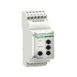 Schneider Electric - RM35JA31MW - Current Monitoring Relay, Zelio Series, DPDT, 5 A, DIN Rail, 250 VAC, Screw