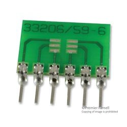 Capital Advanced - 33206 - IC Adapter, SMD Connector, SC/SOT/TSOT/TSOP to 6-SIP