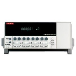 Keithley - 6485 CAL D - Ammeter, Calibrated w/Data, DC Current, Bench, 2nA to 20mA, True RMS
