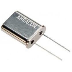 Abracon - AB-10.000MHZ-B2 - Crystal, Through Hole, 10 MHz, Through Hole, 11.5mm x 5mm, 100 ppm, 18 pF, 20 ppm, AB Series