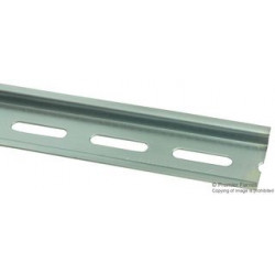 Weidmuller - 0514510000 - DIN Mounting Rail, Mounting Rail, Terminals, 1000 mm, 35 mm, 35 mm, Steel