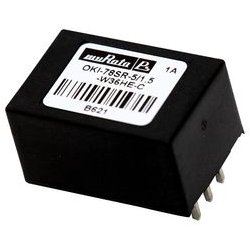 Murata Power Solutions - OKI-78SR-12/1.0-W36HE-C - Non Isolated POL DC/DC Converter, 1 Output, 12 W, 12 V, 1 A, Fixed, Through Hole