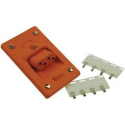 Molex - 1300190018 - Connector, Power Entry, Female, 25a