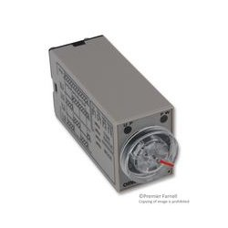 Omron - H3YN-2-24DC - Analog Timer, Multiple Mode, DPDT, H3YN Series, Multifunction, 4 Ranges, 0.1 s, 10 min, Solid State