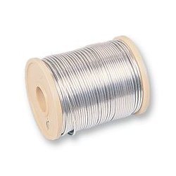 Pro Power - TCW18 500G - Tinned Copper Wire, Solid, BS EN 13602:2013 CW004A, 18 SWG, 1.2 mm, 45 A, 157 ft, 48 m