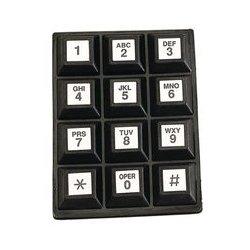 Grayhill - 84S-AC2-112-N - Keypad, 84S Series, 10 mA, 24 V, 3 x 4, SP / Common Bus, 12