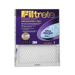 3M - 2000DC-6 - Filtrete Air Filter - Remove Allergens, Remove Pollen, Remove Mold Spores, Remove Bacteria - 16 Height x 20 Width x 1 Depth