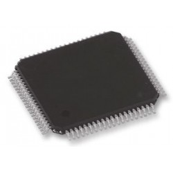 Freescale Semiconductor - DSPB56725AF - DSP, Symphony, Fixed Point, 24bit, 250 MHz, LQFP, 80 Pins