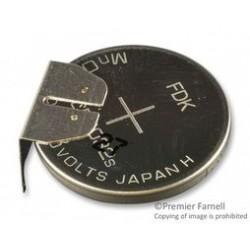 Dantona - CR2032-FT1 - Battery, 3 V, 2032, Lithium, 200 mAh, PCB Pins, 20 mm