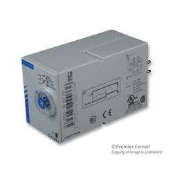 Crouzet / CST - 88867215 - Analog Timer, Chronos 2, OA2R1 Series, Multifunction, 7 Ranges, 0.1 s, 100 h, 2 Changeover Relays