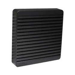 Hammond Manufacturing - XPFA80BK - Vent, ABS, Black, 80 mm Square Fans, 105 mm, 105 mm, 16 mm