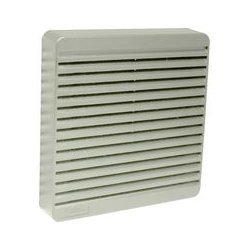 Hammond Manufacturing - XPFA80GY - Vent, ABS, Grey, 80 mm Square Fans, 105 mm, 105 mm, 16 mm