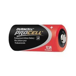 Duracell - 4133300438 - Duracell Procell PL123 3V Lithium Batteries (12pk)