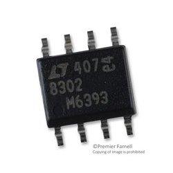 Linear Technology - LT8302ES8E#PBF - DC/DC Controller, 2.8V to 42V, 1 Output, Flyback, 12kHz, SOIC-8
