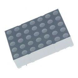 Lumex / ITW - LDM-12457NI - LED Dot Matrix Display, 2 V, 3.9 cd, 31.99mm x 22.85mm, 635 nm