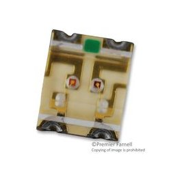 Lumex / ITW - SML-LX2530IGC-TR - Circuit Board Indicator, Green, Red, SMD, 2mm x 2.5mm, R 30mA, G 30mA, R 10mcd, G 10mcd