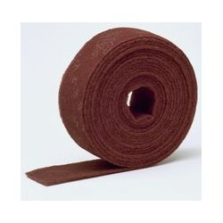 3M - 00266 - Abrasive Roll, Scotch-Brite Clean & Finish, 4 x 30', A VFN, Maroon