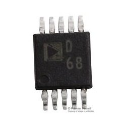 Analog Devices - AD9833BRMZ - Direct Digital Synthesizer 25MHz 1-DAC 10-Bit Serial 10-Pin MSOP Tube