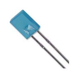 Lumex / ITW - SSL-LX2573USBD - LED, QuasarBrite, Blue, Through Hole, 5mm x 2mm, 20 mA, 3.5 V, 470 nm