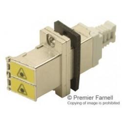 Molex - 106115-1110 - Conn LC Adapter Single Mode/Multimode Duplex F/F ST Panel Mount Tray (MOQ = 25)