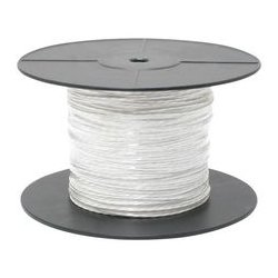 TE Connectivity - 0024A0024-9X - Multiconductor Cable 2Conductors 24AWG 3.78mm Silver Coated High Strength Copper Alloy Translucent White (MOQ = 2500)