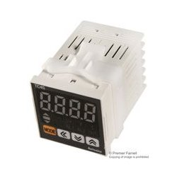 Autonics - TC4S-14R - Temperature Controller, PID, DIN 48x48, Alarm 1, Relay, SSRP Output, 100 to 240 Vac