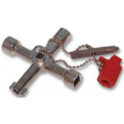 C.K. Tools - 495002 - Tradional Universal Cross Key For use on Locking Systems of Electric, Gas and Water Cupboards