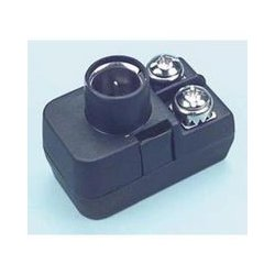 MCM Electronics - 33-010 - Philips Push-on Balun Matching Transformer, Features: Quick Connect For F Fittings With Impedance Matching Transformer