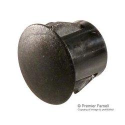 Pro Power - HP-10-0 - Hole Plug, Push Mount, 10 mm, Black, Nylon (Polyamide), 13 mm, HP Series