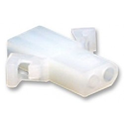 Molex - 03-06-1023 - Connector Housing, Free-Hanging, Standard .062 Series, Receptacle, 2 Positions, 3.68 mm