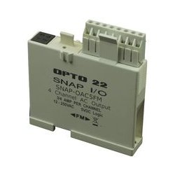 Opto 22 - SNAP-OAC5FM - Digital Output Module, SNAP PAC Series, 12 to 250 Vac, 5 Vdc Logic