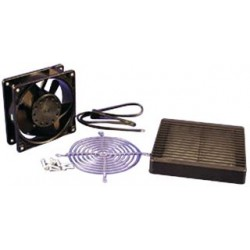 Hammond Manufacturing - DNFF120BK115 - Fan And Filter Kit