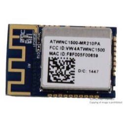 Microchip - ATWINC1500-MR210PA - IoT Module, IEEE 802.11 b/g/n, Power Amplifier, LNA, Switch, Power Management, PCB Antenna