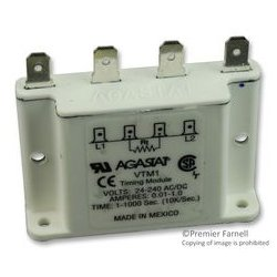 TE Connectivity - VTM-1 - Time Delay Relay, 1 s, 1000 s, VTM-1 Series, SPST-NO, 5 A