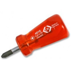 C.K. Tools - T4816 2 - Screwdriver, Stubby, Pz2 X 25mm