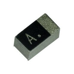 AVX - F380J336MMALZT - Tantalum Polymer Capacitor, Miniature, 33 F, 6.3 V, F38 Series, 20%, M, 0.5 ohm