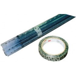 "3M - 40 (3/4""X72YDS) - ESD Tape, Clear, Antistatic, Polyester Film, 19.05 mm, 0.75 , 65.837 m, 72 yard"