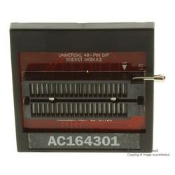 Microchip - AC164301 - 18l/28l/40l Dip Socket Module For Mplab Pm3